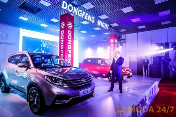 Dongfeng 580. Dongfeng Night представила два новых кроссовера AX4 и 580