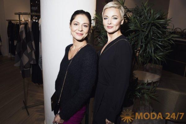 Дарья Повереннова и Елена Лядова. Открылся бутик Elena Miro в «Неглинная галерея»