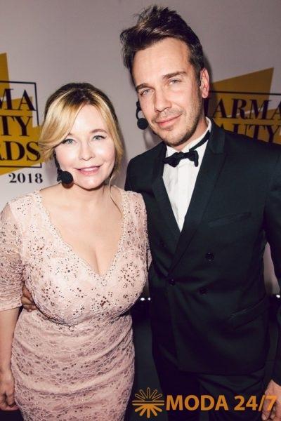 Татьяна Арно и Михаил Зыгарь. Pharma Beauty Awards 2018