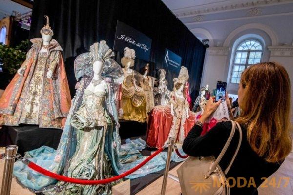 Экспозиция в ЦВЗ «Манеж». Московская международная выставка «Здравствуй, Италия»