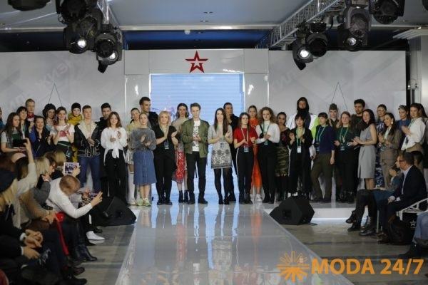 Конкурс молодых дизайнеров на милитаристскую тему