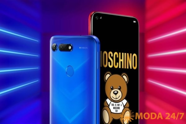 HONOR View 20 Moschino. Новинки HONOR HUAWEI