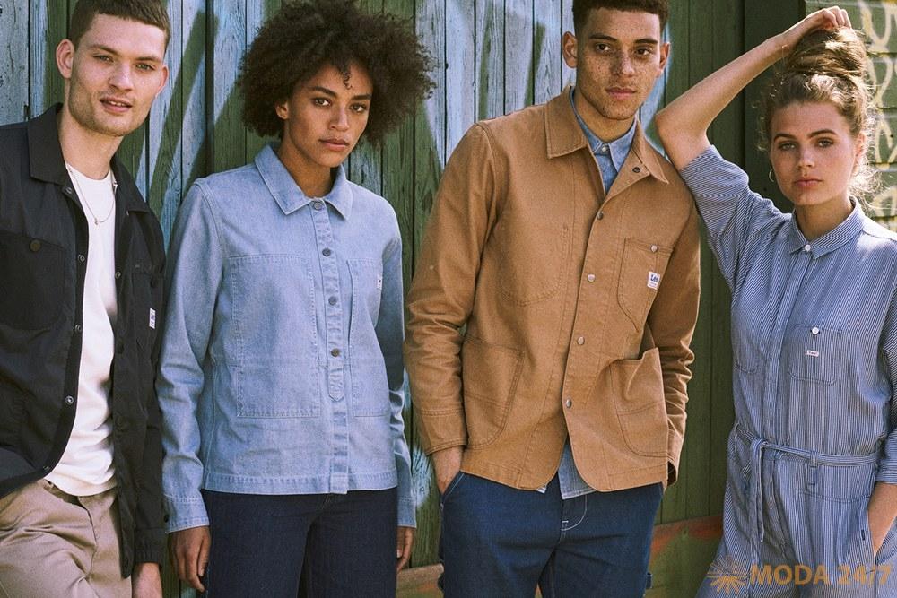 Американский джинсовый бренд представляет яркую коллекцию сезона Lee SS-2019, которая отражает дух жаркого лета Нью-Йорка 80-х. Lee SS-2019 (весна-лето 2019)