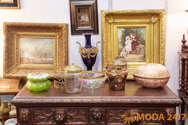«Матовый бисквит» на выставке «Блошиный рынок»