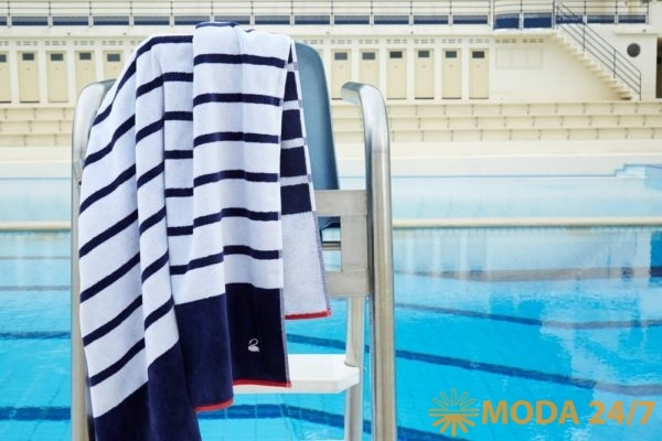 Пляжное полотенце Marine. Yves Delorme приглашает на пляж