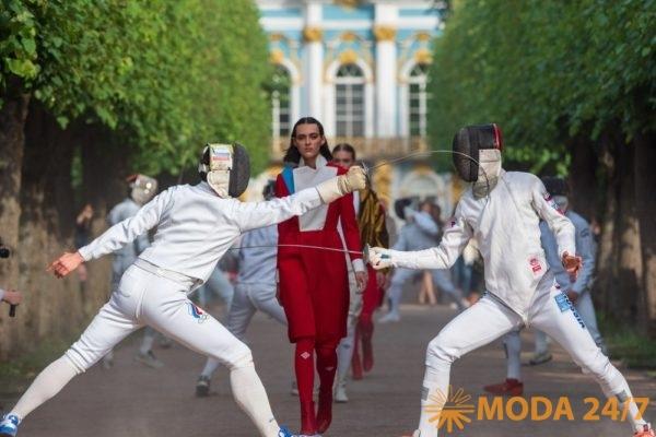Театрализованное дефиле в Санкт-Петербурге «Ассоциации-2018»