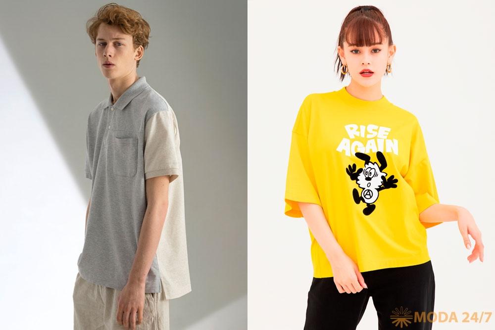 UNIQLO UT LifeWear футболки и поло