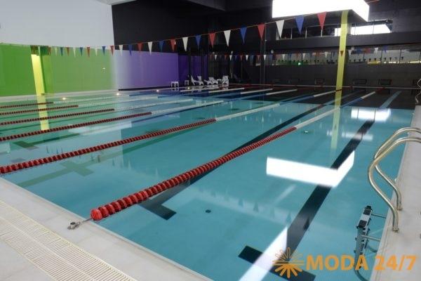 Самый большой бассейн сети X-Fit – 7 дорожек 25 м