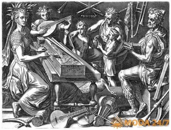 Musica (1565) Cornelis Cort