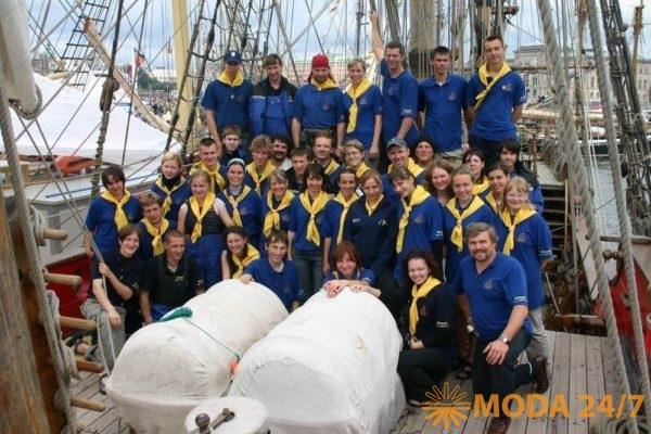 Команда фрегата «Штандарт»