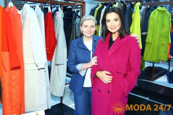 Виктория Андреянова и Екатерина Стриженова. Модные гости выставки CPM