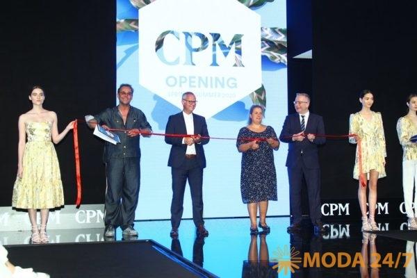 Церемония открытия CPM – Collection Première Moscow