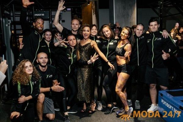Команда X-Fit Столешников. Модный фитнес в центре Москвы