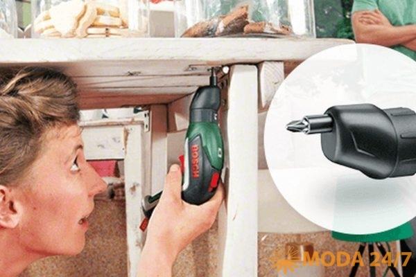 IXO Off-set angle. Bosch IXO VI для дома