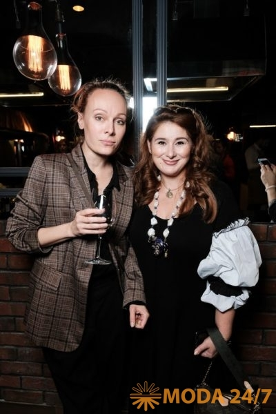 Ольга Ломоносова и Юлия Куварзина