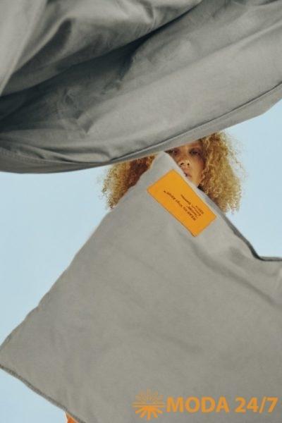 Выставка «МАРКЕРАД». Пододеяльник и наволочка IKEA x Virgil Abloh – MARKERAD