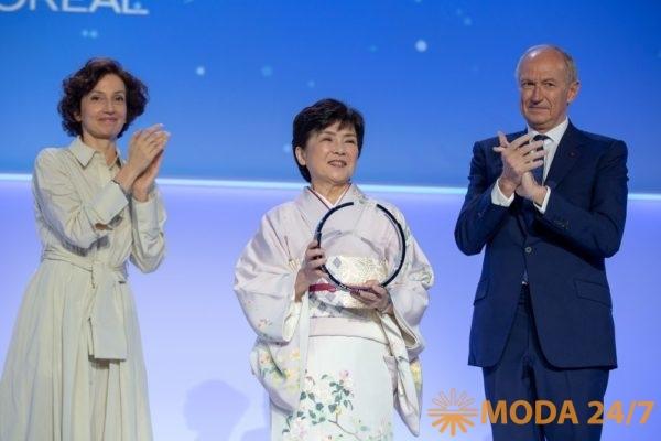 Международная премия «Для женщин в науке» фонда L'Oreal и UNESCO. Маки Каваи (Maki Kawai)