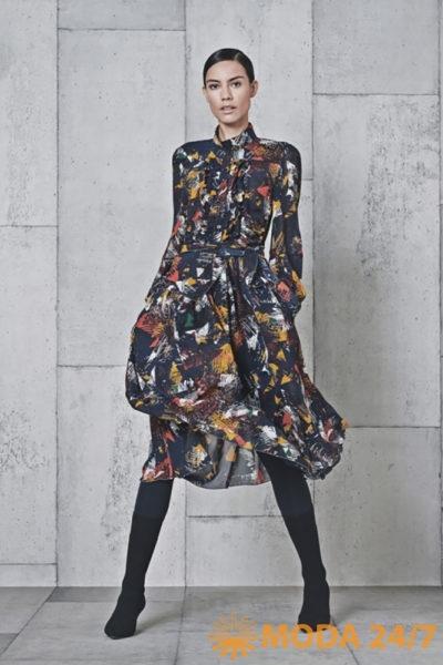 Платье-рубашка. HIGH TECH