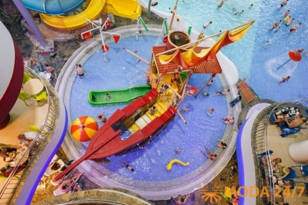 Детская зона аквапарка