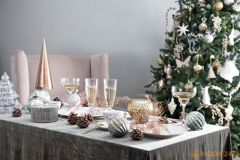 Обыкновенное новогоднее чудо: как украсить Новогодний стол. WestWing