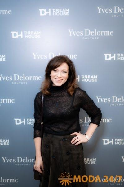 Алёна Хмельницкая. Yves Delorme Couture в Dream House