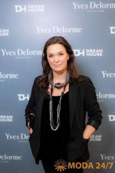 Марина Могилевская. Yves Delorme Couture в Dream House