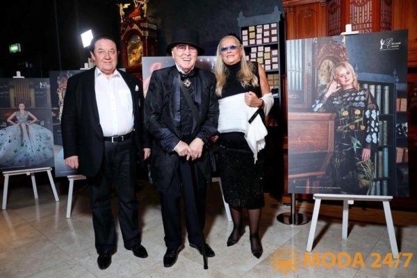 Александр Митрошенков, Вячеслав Зайцев и Татьяна Михалкова