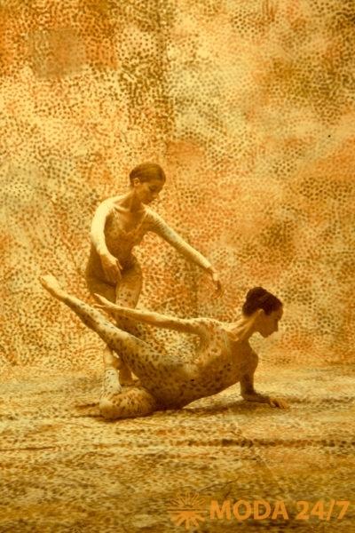 танцоры труппы Мерса Каннингема, «Summerspace», 1958 г.