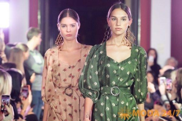 Алена Ахмадуллина весна-лето 2020. Комфортные платья для межсезонья из ткани смешанного состава