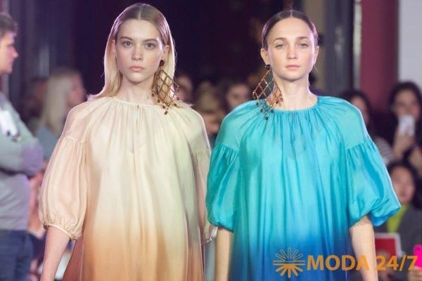 Алена Ахмадуллина весна-лето 2020. Шёлковые платья