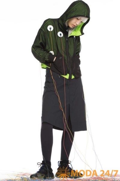 Сетчатая куртка NW08/15 ARGON и функциональная юбка RW101/1 BLERIOT