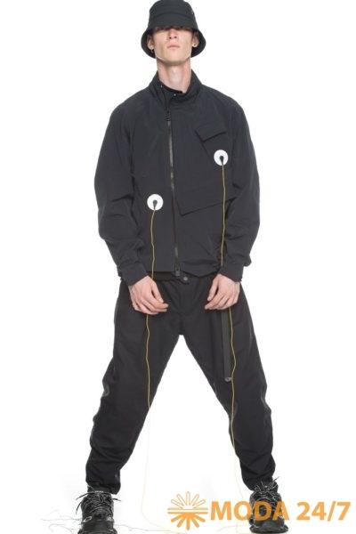 Панама krakatau, короткая куртка QM248/2 MASARU и широкие брюки RM97/1 PANSTARRS