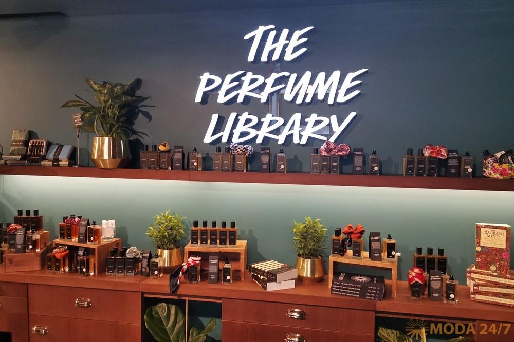 Lush Perfume Library: литература и ароматы