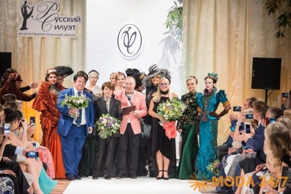 Юбилей фонда «Русский Силуэт» в Галерее искусств Зураба Церетели. Татьяна Михалкова: Мы хотели соединить Европу и Азию