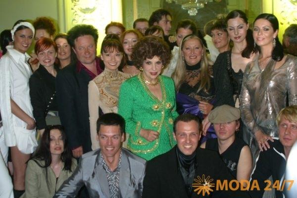 Александр Митрошенков, Джина Лоллобриджида и Татьяна Михалкова