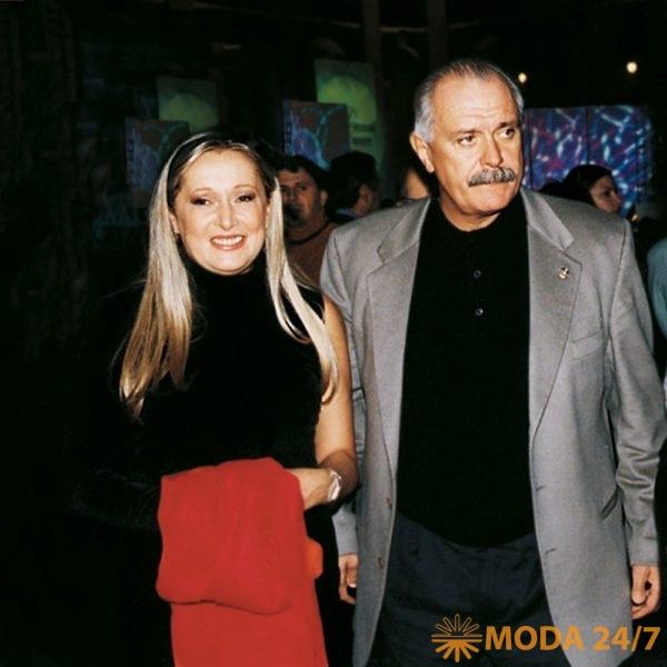 Татьяна и Никита Михалковы на Московском Международном кинофестивале