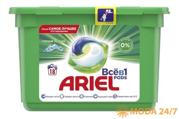 Ariel PODs «Всё в 1» Purezyme