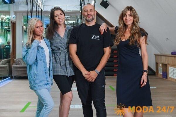 Пресс-служба X-Fit, Руслан Панов и Ольга Чиненова