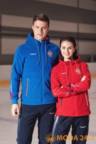 Forward FW-2020/21 (осень-зима 2020/21). Александр и Наталья на тренировке в куртках Форвард