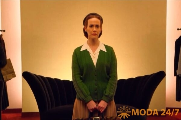 Лу Эйрич – художник по костюмам. Милдред Рэтчед, кадр из сериала «Сестра Рэтчед»
