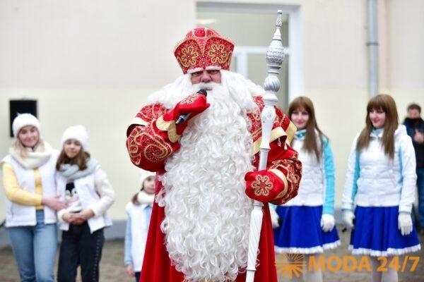 Главный Дед Мороз страны посетил «Завидово»