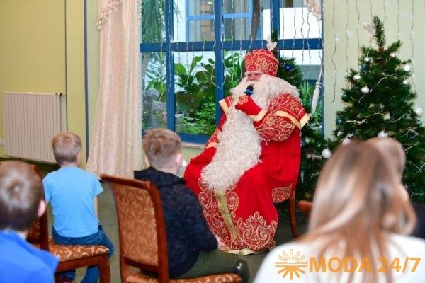 Главный Дед Мороз страны посетил «Завидово». Мороз отвечает на вопросы детей и взрослых