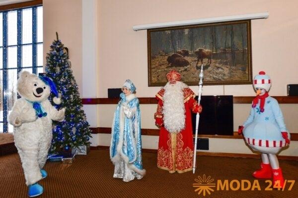 Главный Дед Мороз страны посетил «Завидово». Снегурочка и Дед Мороз