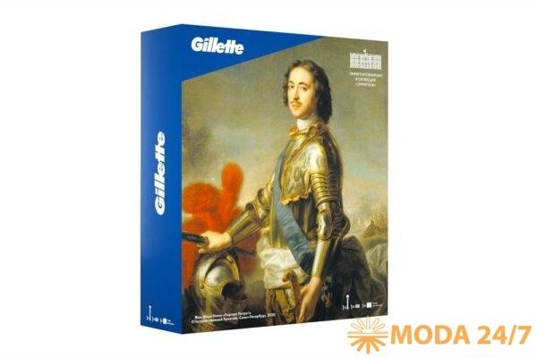 Модная Эрмитажная коллекция. Подарочный набор Gillette Fusion5 – Жан-Марк Натье «Портрет Петра I», 1777