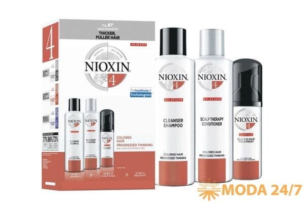 Пять новых косметических продуктов. Трехступенчатая система Nioxin №4