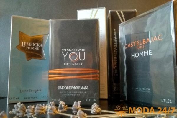 Новинки мужских ароматов
