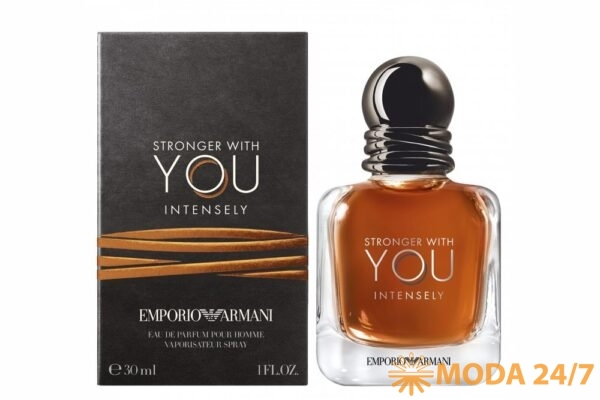Emporio Armani Stronger with You Intensely Новинки мужских ароматов. Emporio Armani Stronger with You Intensely