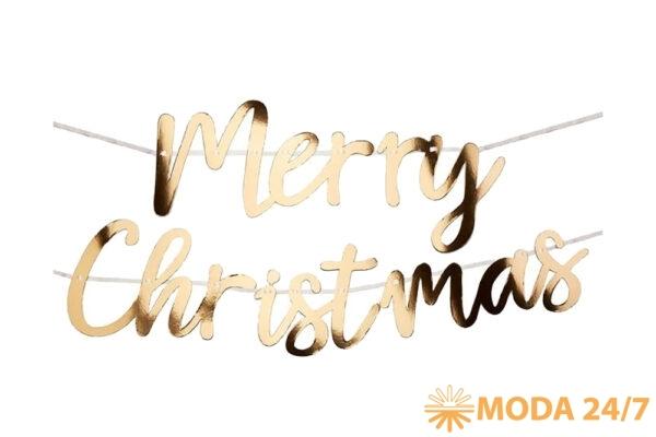 Новогоднее украшение. Новогоднее украшение «Веселого Рождества»