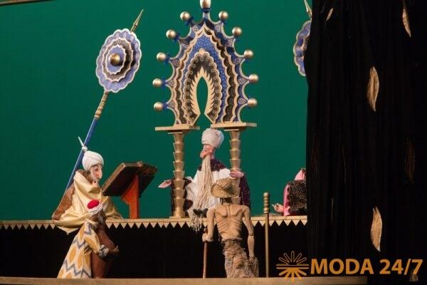 Волшебная лампа Аладдина. Мудрейший, Аладдин и Султан во время суда