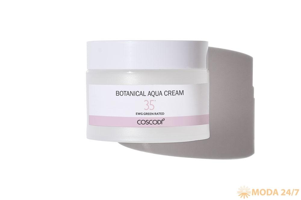 Coscodi 35° Botanical Aqua Cream. 10 январских бьюти-новинок